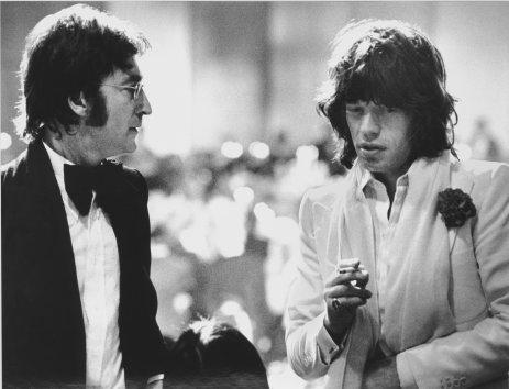 John Lennon og Mick Jagger
