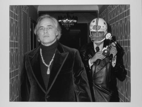 Marlon Brando og Ron Galella